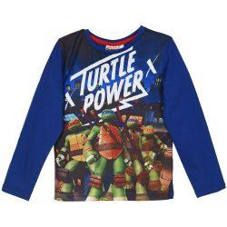 Turtle Power kék felső