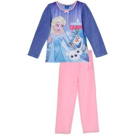 Jégvarázs lila-puncs plüss pizsama