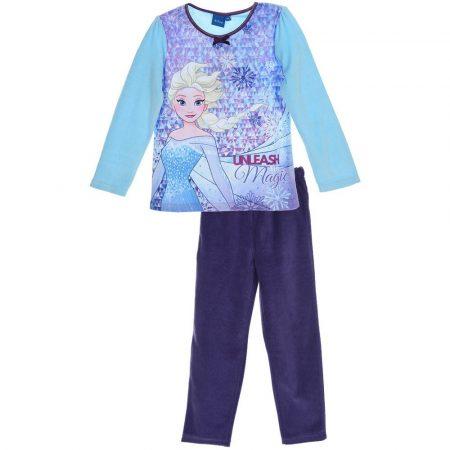Jégvarázs türkiz-lila plüss pizsama