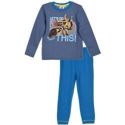 Transformers acélkék-türkiz pizsama