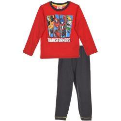 Transformers piros-grafit pizsama