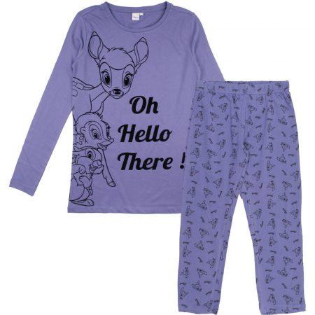 Bambi női indigó pizsama