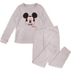 Mickey szürke polár férfi pizsama