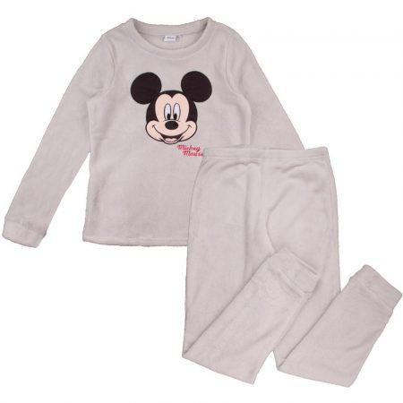 Mickey férfi szürke polár pizsama