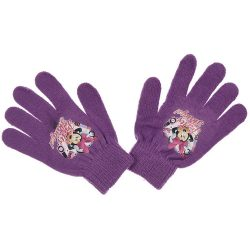 Minnie lila kesztyű