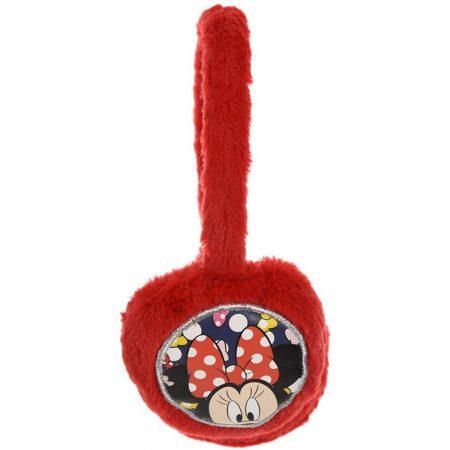 Minnie piros fülvédő