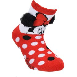 Minnie piros zokni