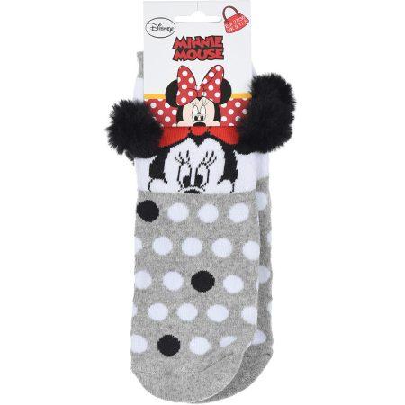 Minnie szürke zokni