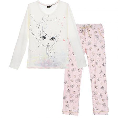 Csingiling fehér-puncs pizsama