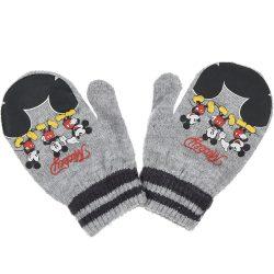 Mickey szürke kesztyű