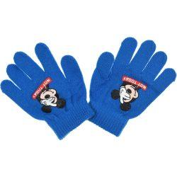 Mickey kék kesztyű
