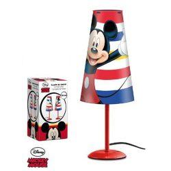 Mickey piros asztali lámpa