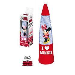 Minnie shake & shine piros lámpa