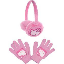 Hello Kitty puncs állítható fülvédő szett