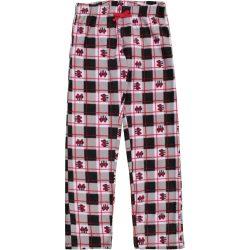 Minnie női piroskockás polár pizsamanadrág