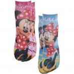 Minnie kék-rózsaszín zokni szett