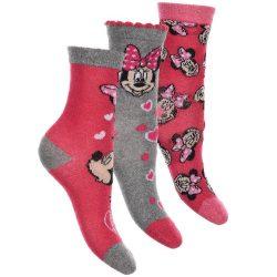 Minnie-szürke-Love zokni szett