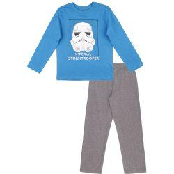 Rohamosztagos kék-szürke pizsama
