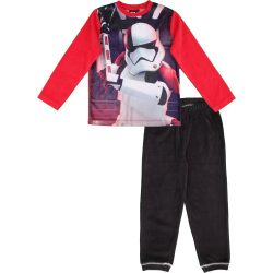 Star Wars piros-fekete plüss pizsama