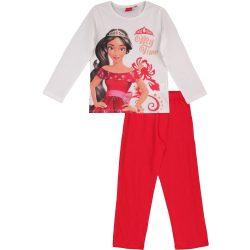 Elena my time fehér-piros pizsama