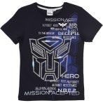Transformers éjkék póló