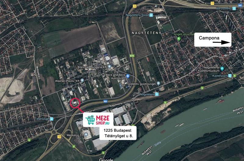 MeseShop.hu  térkép, itt találsz minket