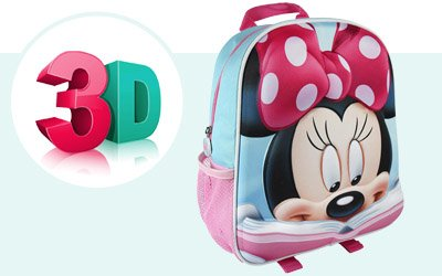 3 dimenziós gyerek hátizsák